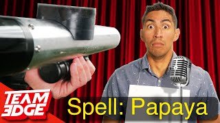 World's Most Painful Spelling Bee!!