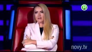 Яна Соломко произвела фурор в турецком шоу. «Шоумания». 23.12.2014