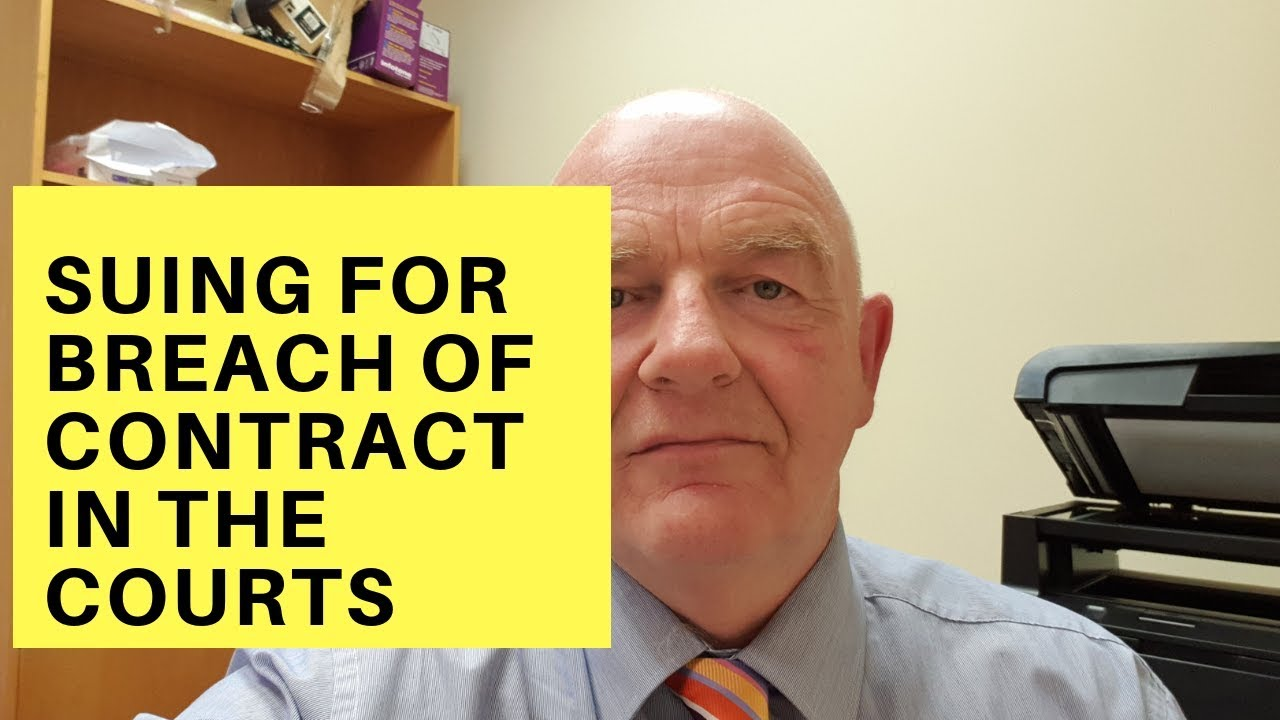 Suing For Breach Of The Employment Contract In Irish Civil Courts