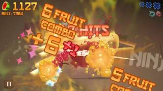 Fruit Ninja Classic Mode: 3227