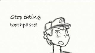 Gravity Falls Fan Animation- Stop eating toothpaste