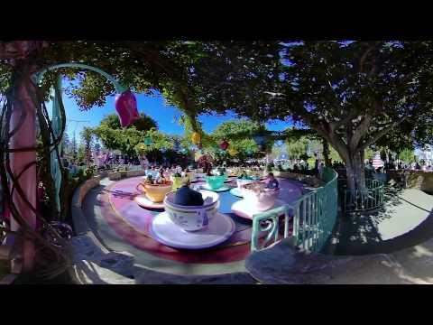 Disney World Teacup ride - 360 VR