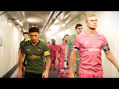 Man United vs Real Madrid - New KITS 2020/21 ft Haaland , Sancho - 동영상