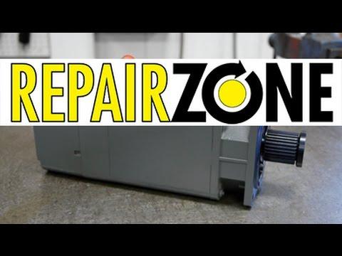 Siemens servo motor repair youtube for Siemens servo motor repair