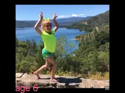 Isabella dawn gymnastics evolution (age 3-6) please read discription 16k