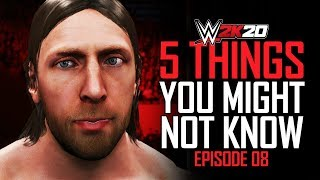 WWE 2K20: 5 Things You Might Not Know #8 (Edit Beards, Tag OMGs, Hidden Fiend & More)