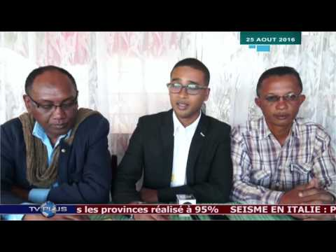 JOURNAL DU 25 AOUT 2016 BY TV PLUS MADAGASCAR