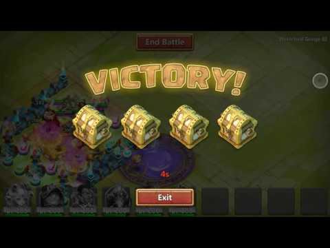 Castle Clash-WG 3 SOLO ADVICES+SETUP