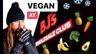 Vegan Grocery Shopping at BJ