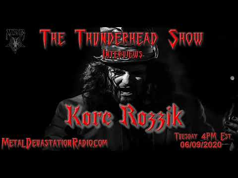 Exclusive Interview with Kore Rozzik On The Thunderhead Show
