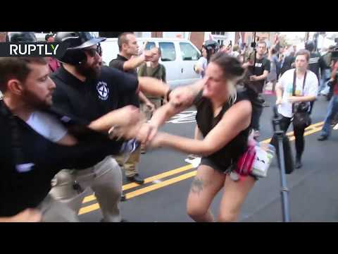 Violence in Virginia: Protesters clash in Charlottesville rally