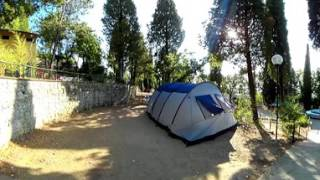 Piazzola tenda - Camping Panoramico Fiesole a Fiesole, Firenze, in Toscana - Video 360
