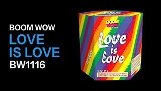 BW1116   LOVE IS LOVE