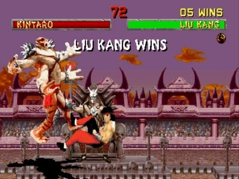 Mortal Kombat 2 Liu Kang Gameplay Playthrough