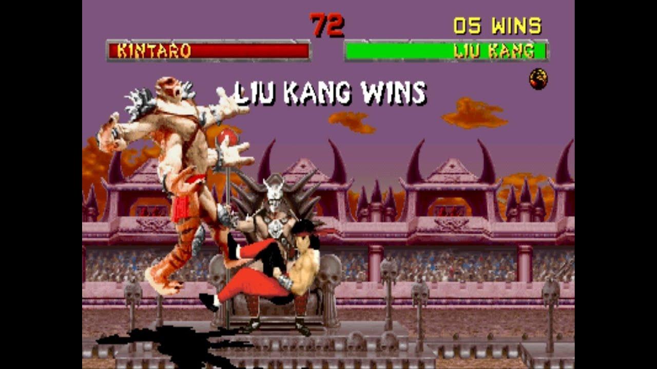 Download Mortal Kombat 2 Liu Kang Gameplay Playthrough