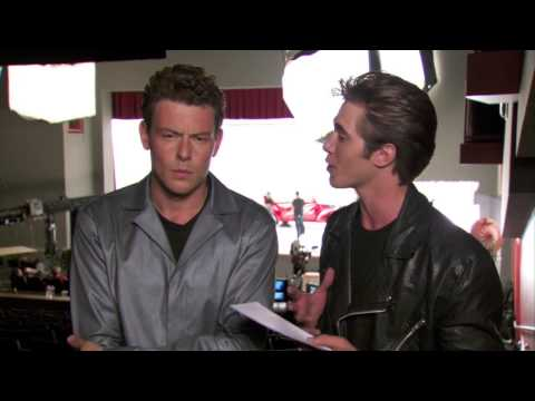 GLEE - Bro Day Q and A