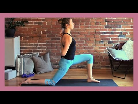 Morning Yoga For Hip Flexibility & Energy - 30 min Vinyasa Yoga Class