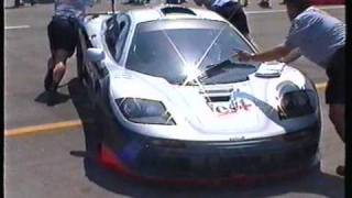 McLaren F1 GTR VS Mclaren F1 two seater Great sound!  West McLaren Adrenaline Mallorca 1999