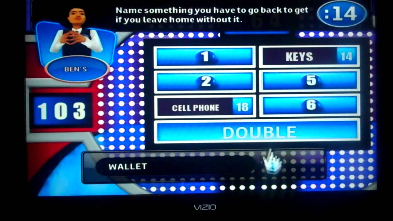 Family Feud 2010 Wii Game 1