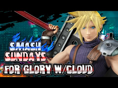 Smash Sundays #8 - Super Smash Bros Wii U CLOUD STRIFE FOR GLORY