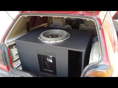 "Earthquake HoleeS 15"" 7.000 RMS 15.000 Peak SPL Crazy Bass Car Audio Competition 25HZ SQ Loud"