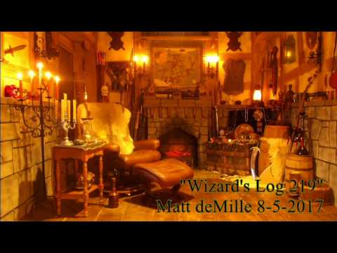 Wizard's Log 219: Nightmares, drama, wrestlers, revelations, mazes, monsters, and bad poetry