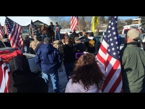 Armed American protesters take over federal wildlife refuge in Oregon
