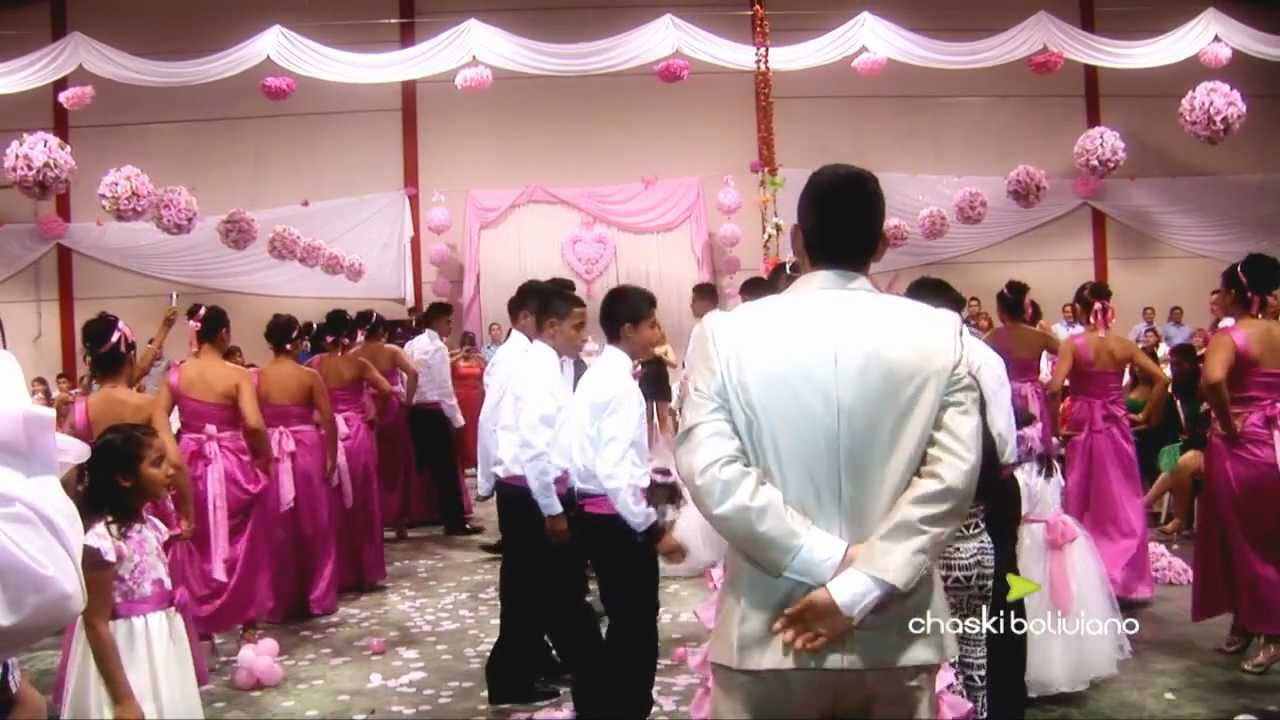 Videos De Quince Anos: Decoración-Mini Damas Y El Baile De Quince Años