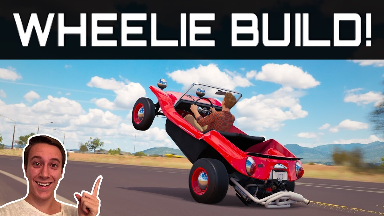 Forza horizon 3 best wheelie car build tune testdrive youtube