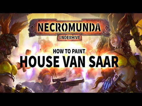 Necromunda Underhive: How to Paint: House Van Saar.