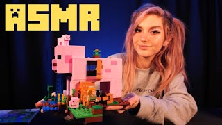 [ASMR] 2 HR+ Lego Minecraft Build: The Pig House // Whispering