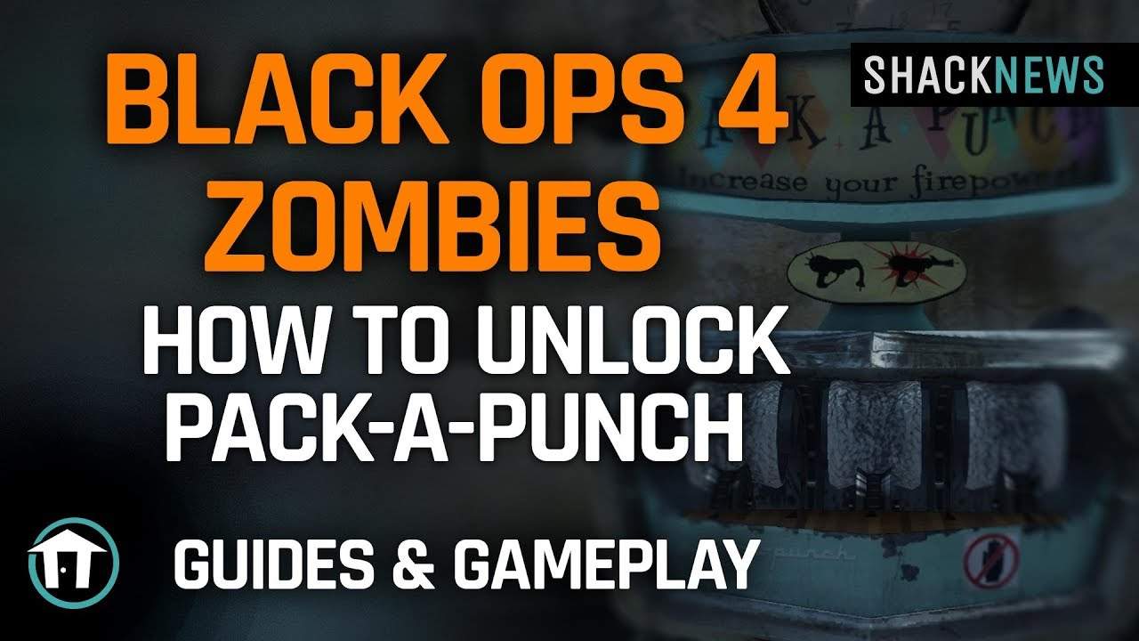 How to unlock Pack-a-Punch in Voyage of Despair - Call of Duty: Black Ops 4  Zombies