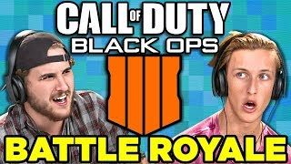Fortnite Killer? | Call of Duty: Black Ops 4 - Battle Royale (React: Gaming)