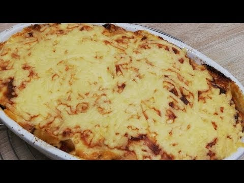 gratin-de-pÂtes-crÉmeux-au-poulet-facile-(cuisine-rapide)