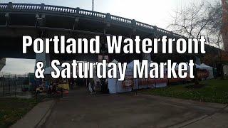 Portland, OR Waterfront GoPro Hero 8 Black Smooth Q Gimbal 4K Walking Tour 2019