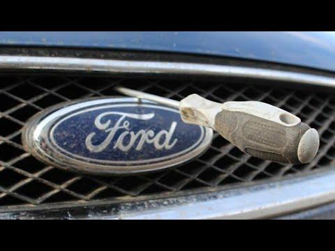 Как открыть капот форд с макс