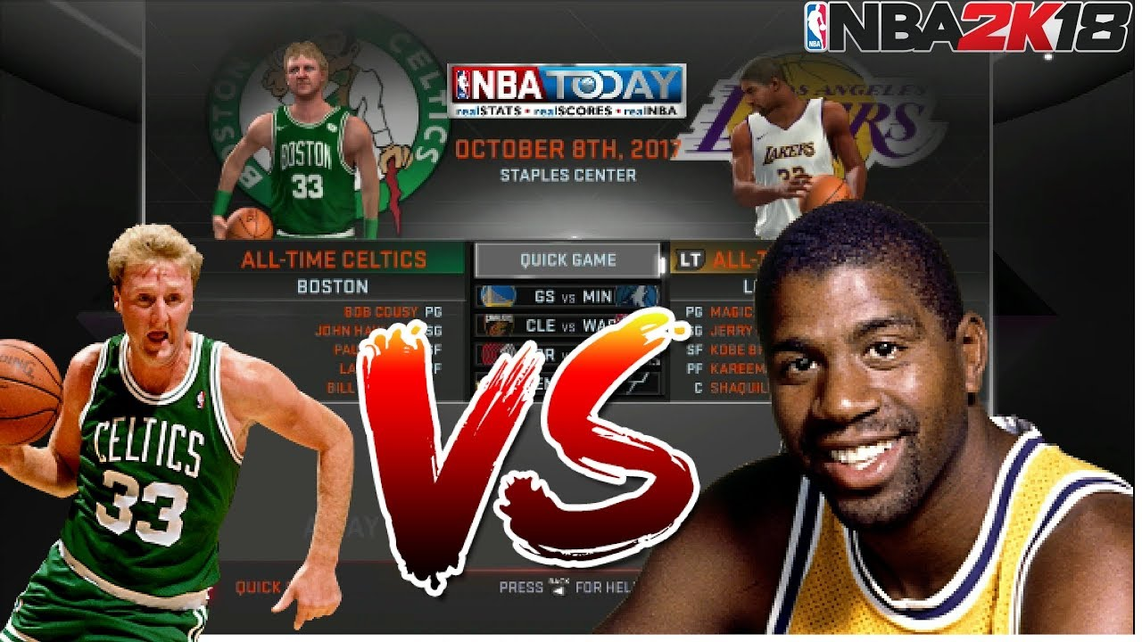 NBA 2K18 XBOX 360/PS3 (LAST GEN) | ALL-TIME LAKERS VS ALL