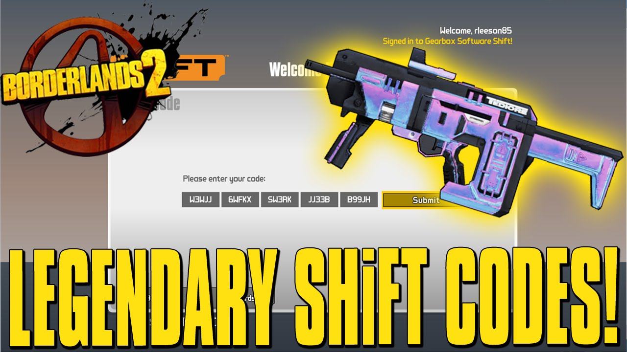 Borderlands 2 Exclusive Legendary Weapon SHiFT Code! | Doovi Borderlands 2 Shift Codes