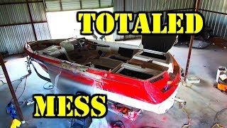 Super Boat Super Wrecked Copart Rebuild Part 5