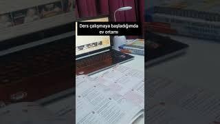 Evde Ders Çalışmaya Çalışıyorumdur 😃