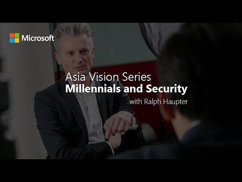 Asia Vision Series: Millennials and security