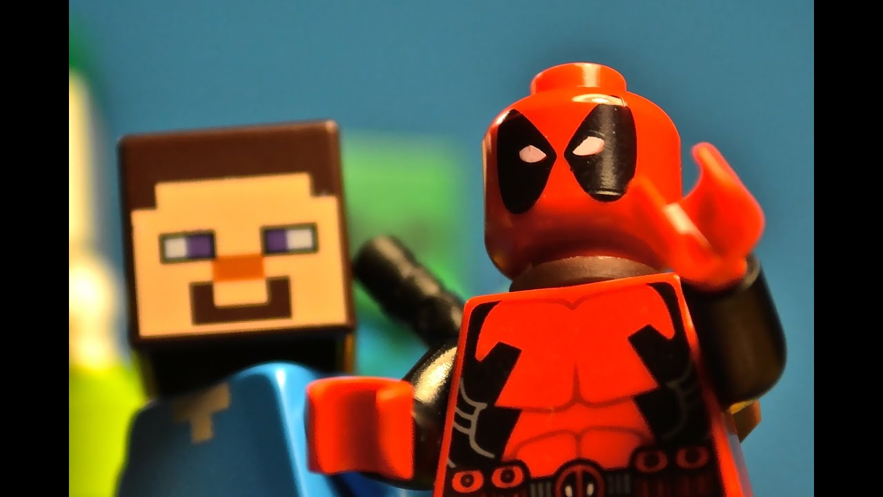 Lego Deadpool Minecraft Crossover Youtube