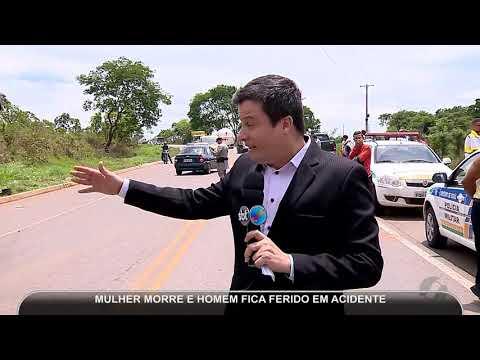 JMD (01/11/18) - Acidente entre carro e ônibus mata uma pessoa