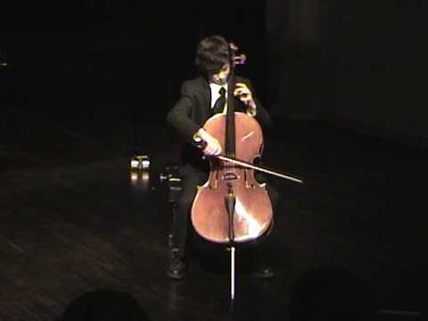 Crescendo Festivals/Montreal--Goltermann Cello Concerto No. 4 in G Major, Op. 65, 1st mvmt.