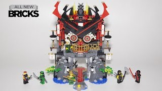 Lego Ninjago 70643 Temple of Resurrection Speed Build