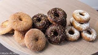 Baked Donuts Recipe (3 ways) - Homemade Baked Donuts⎮Tasteeful Recipes