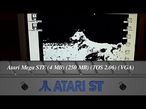 Atari Mega STE (4 MB) (250 MB) (TOS 2.06) (VGA)