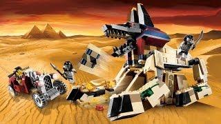 LEGO Приключения Фараона: Оживший Сфинкс (7326) Pharaoh's Quest Rise of the Sphinx на 15Toys.RU