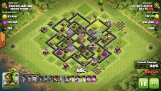 Clash Of Clans || another TH8 crack down with Gobs!