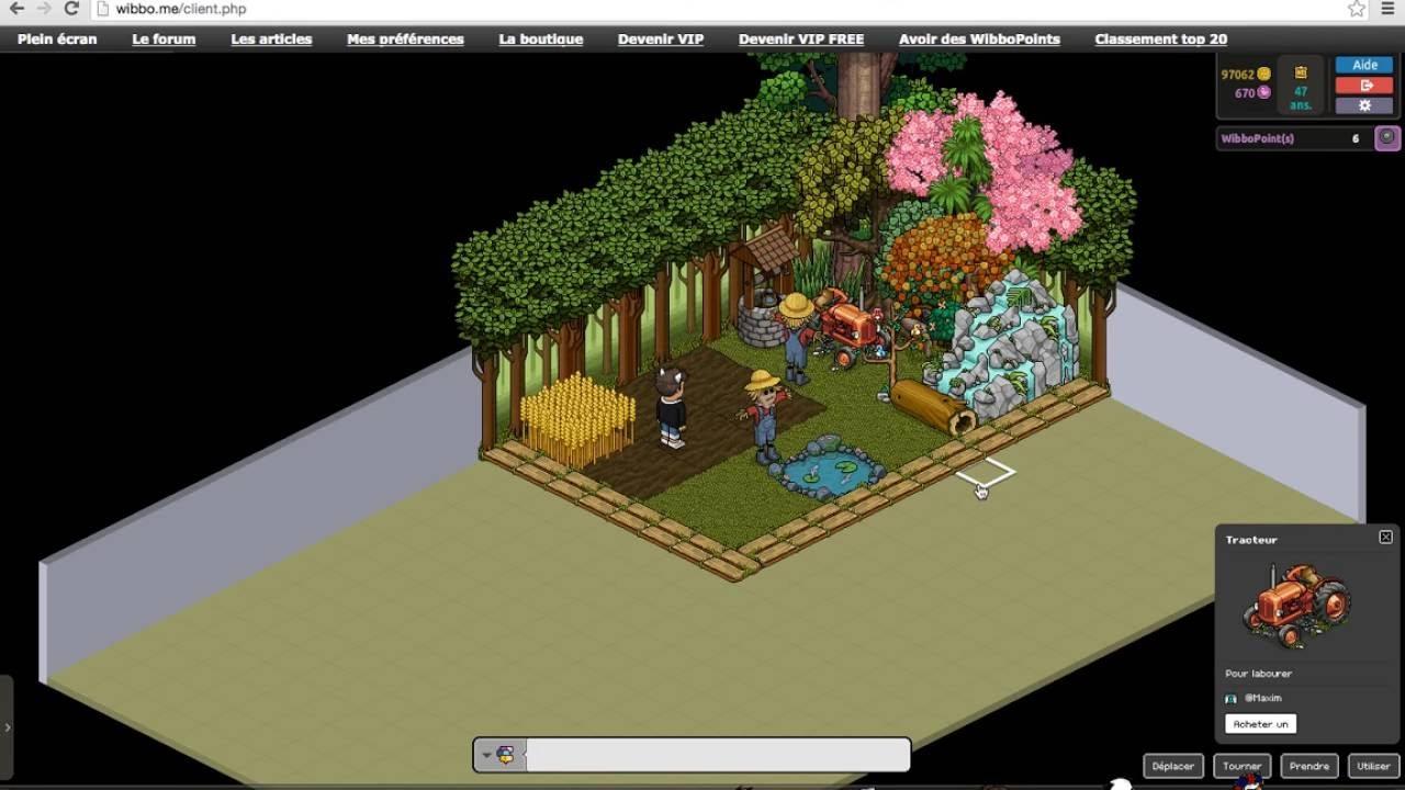Tuto jardin wibbo me youtube for Wibbo me